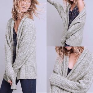 Angel of the North Chauvet Oversized Open Cardigan